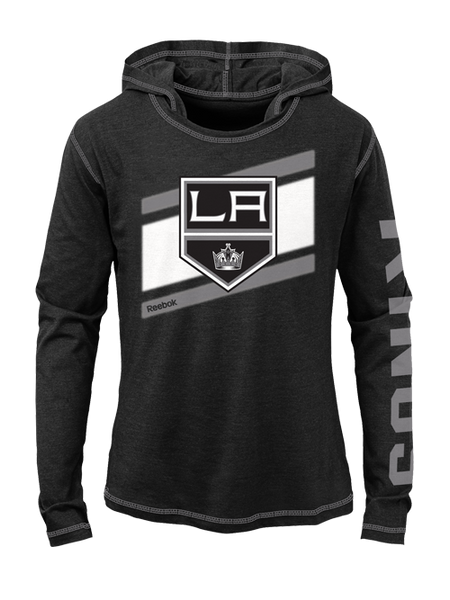 Los Angeles Kings Youth Girls Jersey Longsleeve Hooded T-Shirt