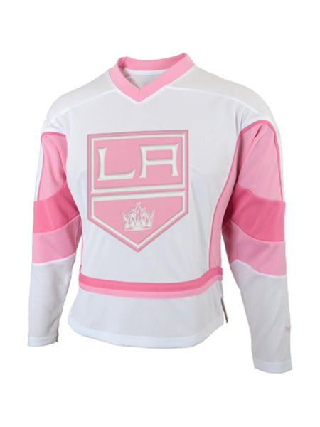 LA Kings Girls White Fashion Jersey
