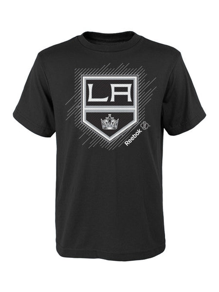 Los Angeles Kings Kids Center Ice Travel N' Training Frost Logo T-Shirt