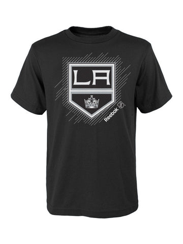 Los Angeles Kings Youth Center Ice Travel N' Training Frost Logo T-Shirt