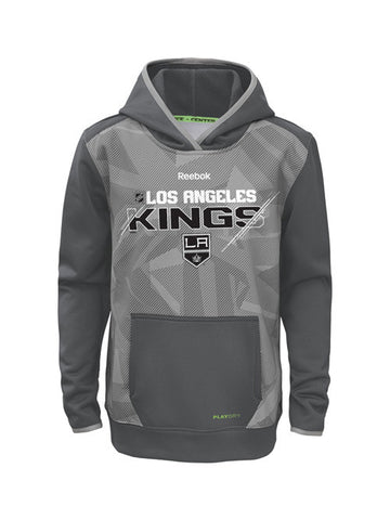 Los Angeles Kings Youth Center Ice Forecheck TNT Pullover Hoodie