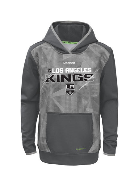Los Angeles Kings Kids Center Ice Forecheck TNT Pullover Hoodie