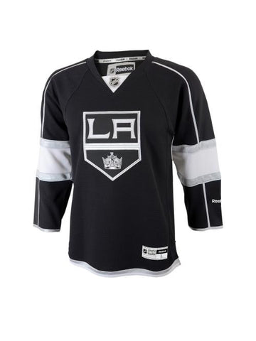 LA Kings Reebok Youth Premier Home Jersey