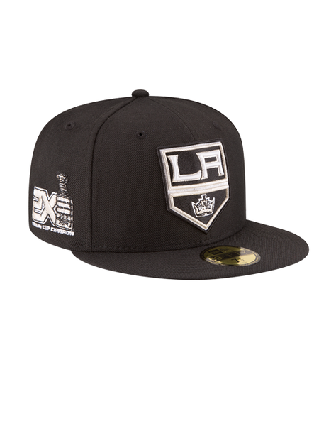 Los Angeles Kings 50th Anniversary Shield Wool 2X Champions Cap