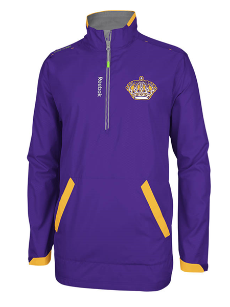 Los Angeles Kings Vintage Center Ice Hot Jacket - Purple