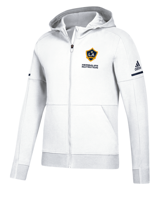 LA Galaxy Travel Hood Full Zip Jacket