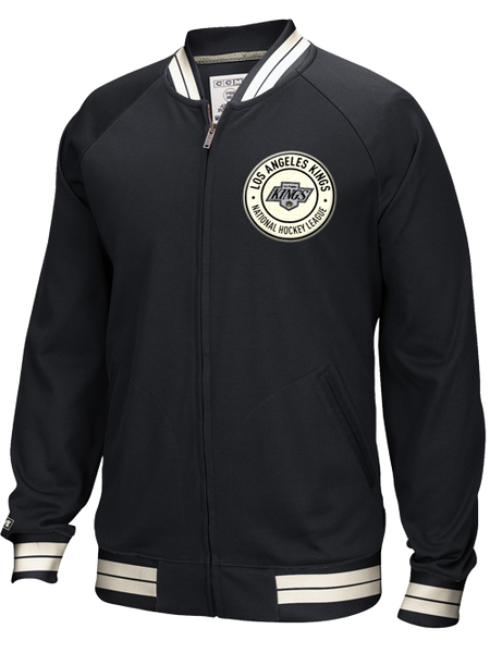 Los Angeles Kings CCM Circle Emblem Full Zip Jacket