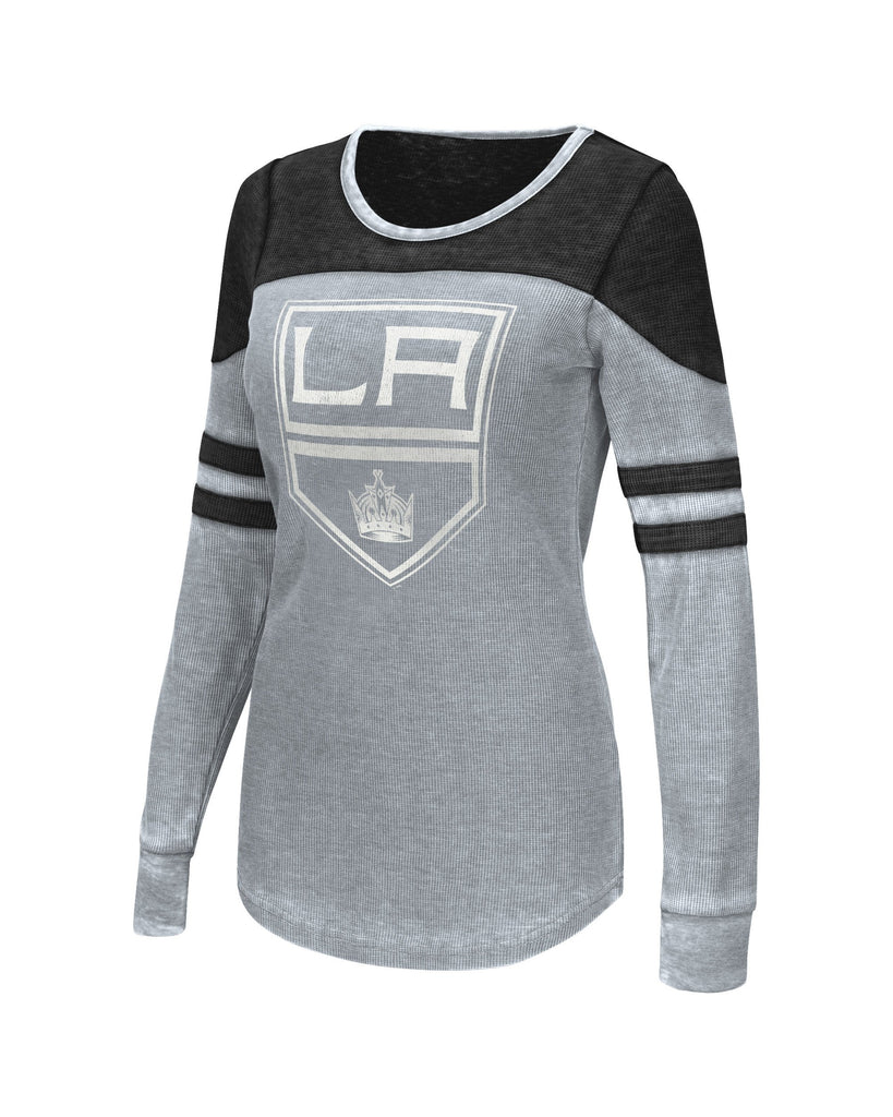 LA Kings Womens Touch Distressed Logo Hatrick Thermal