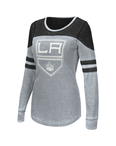 Los Angeles Kings Womens Touch Distressed Logo Hatrick Thermal