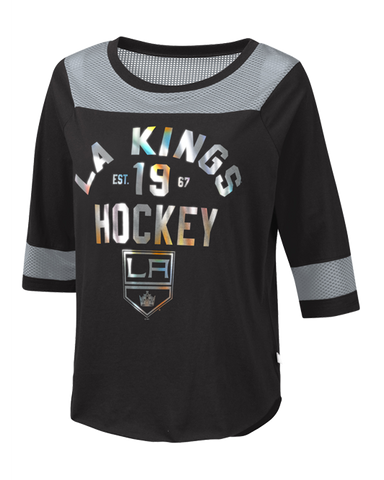 LA Kings Womens Kick Off Long Sleeve T-Shirt
