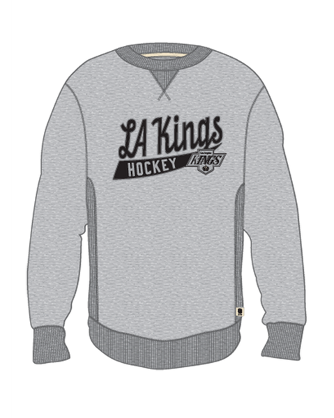 LA Kings Shield Finished Fleece Crew