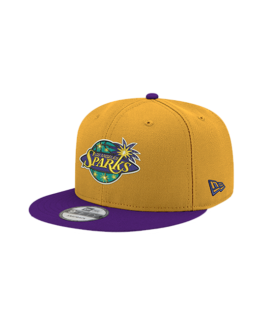 Los Angeles Sparks 9FIFTY Two Tone Primary Logo Snapback Cap