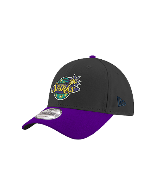 Los Angeles Sparks 9FORTY Two Tone Adjustable Cap - Black/Purple