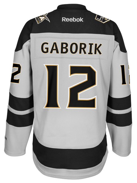 Los Angeles Kings 50th Anniversary Marian Gaborik Premier Jersey