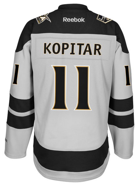 Los Angeles Kings 50th Anniversary Anze Kopitar Premier Jersey