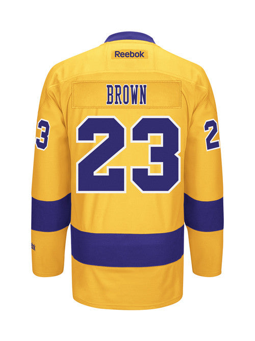 LA Kings Reebok Dustin Brown 3rd Premier Jersey
