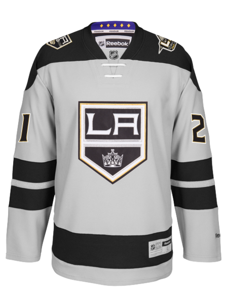 Los Angeles Kings 50th Anniversary Nick Shore Premier Jersey