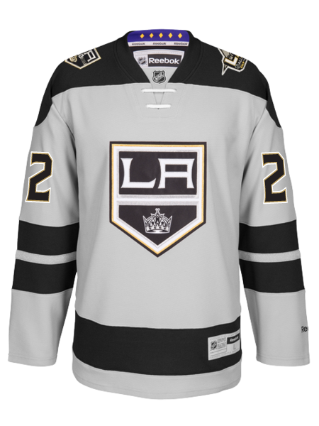 Los Angeles Kings 50th Anniversary Trevor Lewis Premier Jersey
