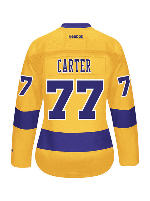 sale retailer bb41e 72dfa LA Kings Reebok Women's Jeff Carter 3rd Premier Jersey