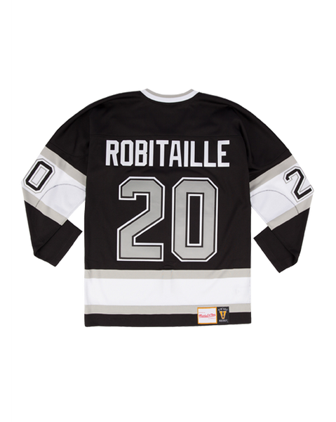 Los Angeles Kings Mitchell and Ness Authentic Robitaille Jersey