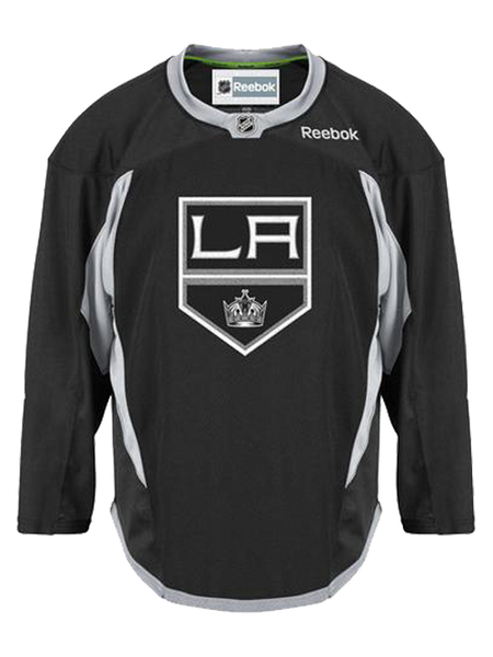 Los Angeles Kings Center Ice Practice Jersey - Black