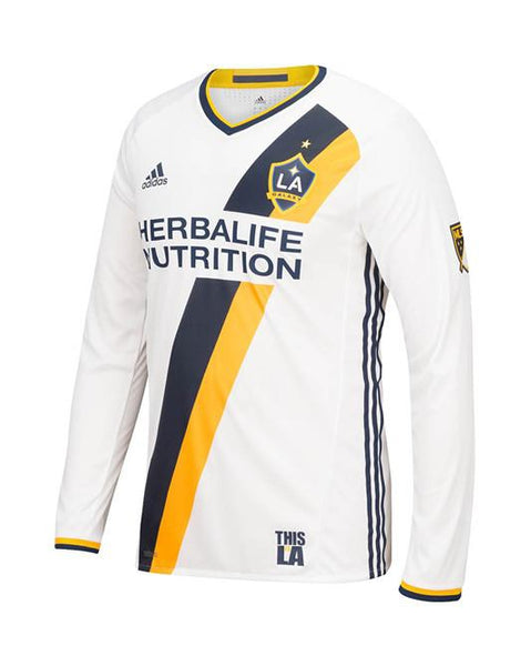 LA Galaxy Authentic Primary Long Sleeve Jersey