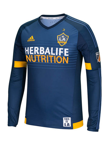 LA Galaxy Authentic Secondary Long Sleeve Jersey