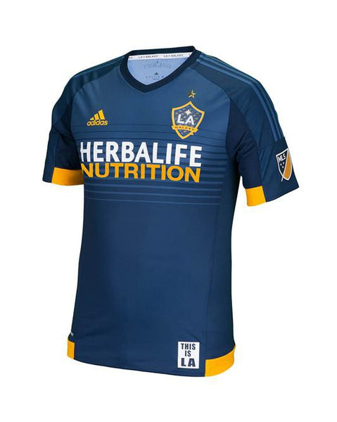 LA Galaxy Giovani Dos Santos Authentic Secondary Jersey