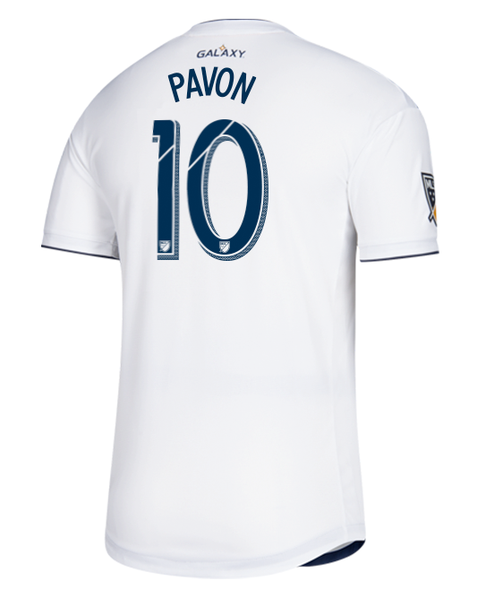 LA Galaxy Cristian Pavon Authentic Primary Jersey