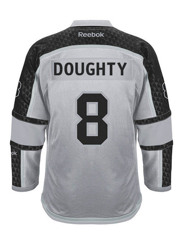 LA Kings Reebok Drew Doughty Premier Cross Check Jersey