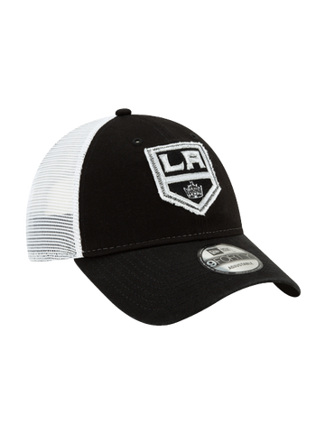 LA KINGS 9FORTY TRUCKERED ADJUSTABLE CAP