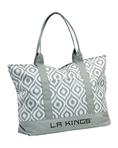 LA Kings Ikat Tote Bag