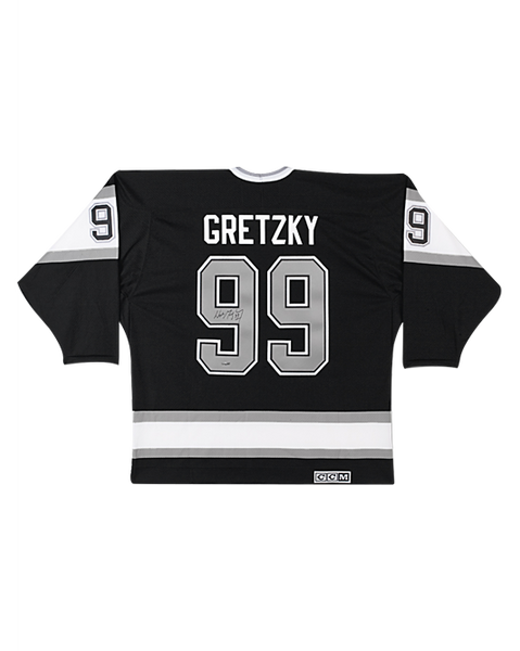 LA Kings Wayne Gretzky Signed Home Replica CCM Jersey