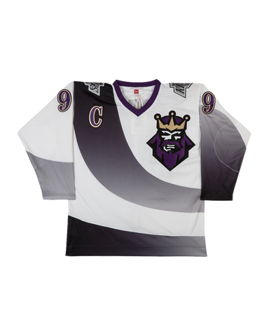 LA Kings Wayne Gretzky 1995-96 Authentic Mitchell & Ness Alternate Jersey