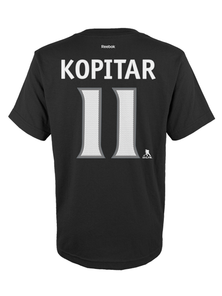 Los Angeles Kings Anze Kopitar Kid Authentic Player Short Sleeve T-Shirt