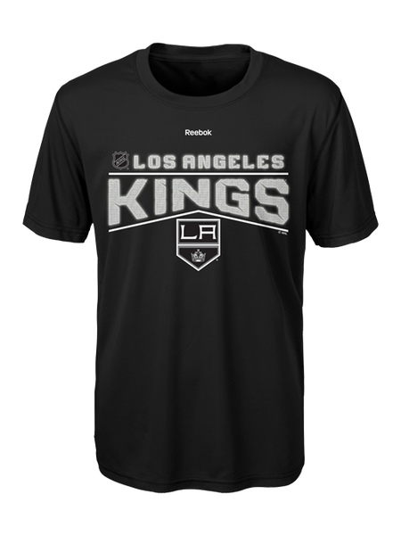 Los Angeles Kings Youth Center Ice TNT Freeze Reflect Short Sleeve T-Shirt