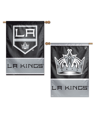 LA Kings 28x40 2-Sided Vertical Banner