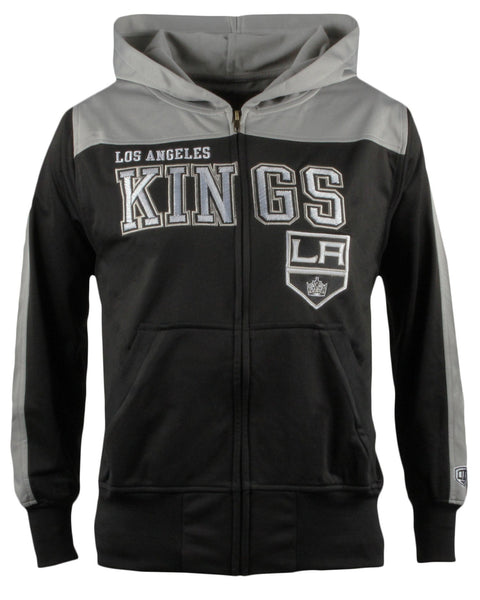 LA Kings Youth Boreland Full Zip Hoodie