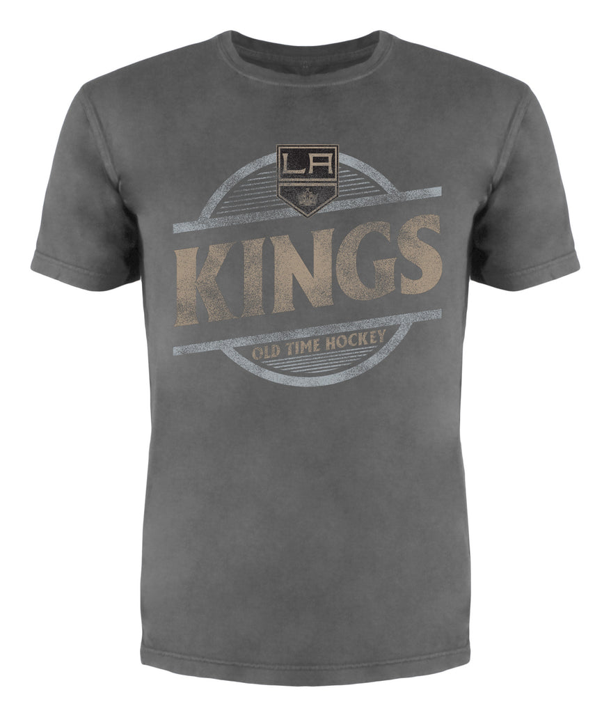LA Kings Coil Tonal Circle Wordmark Short Sleeve T-Shirt
