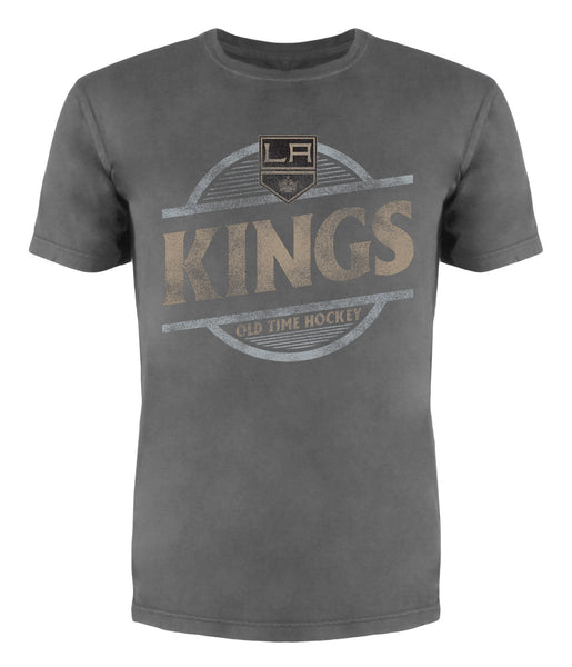 Los Angeles Kings Coil Tonal Circle Wordmark Short Sleeve T-Shirt