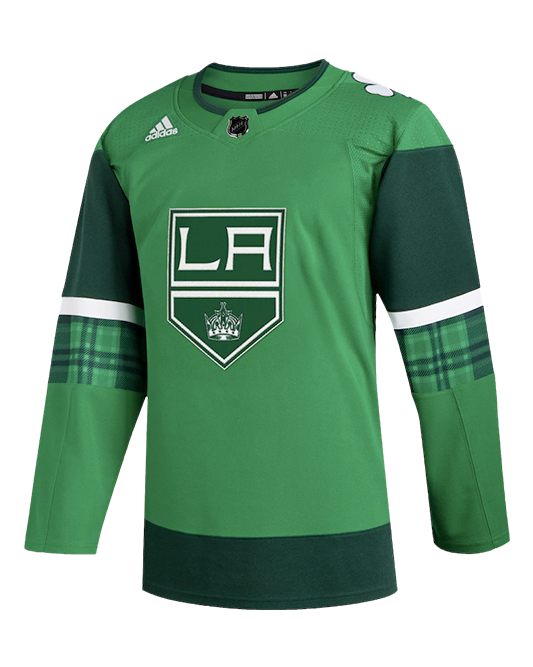 LA Kings St Patrick's Day Authentic Jersey