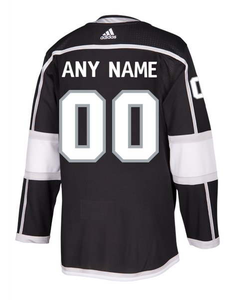 LA Kings Custom Authentic Pro Home Jersey