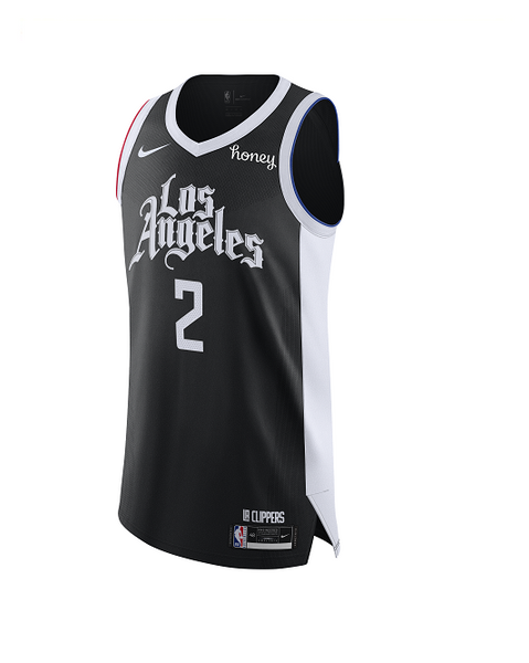 LA Clippers City Edition Kawhi Leonard Authentic Jersey