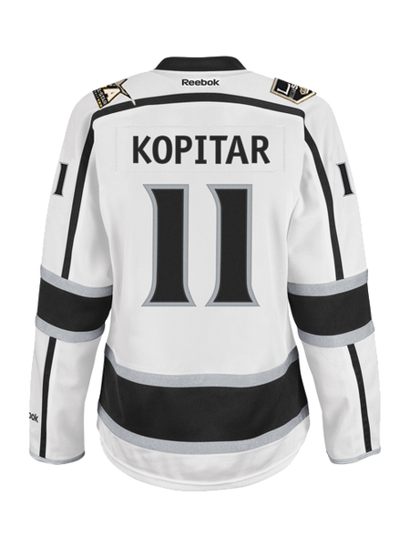Los Angeles Reebok Kings Women's Anze Kopitar Premier Road Jersey