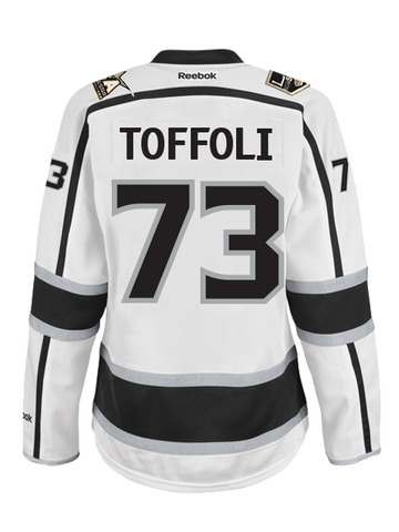 Los Angeles Reebok Kings Women's Tyler Toffoli Premier Road Jersey