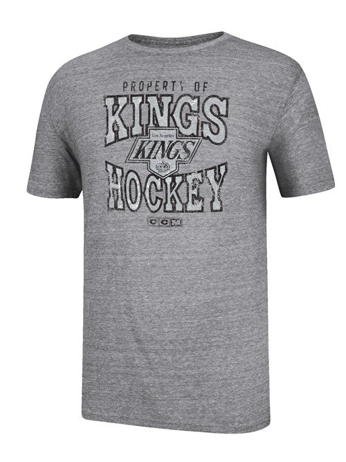 Los Angeles Kings CCM Chevron Game Worn T-Shirt