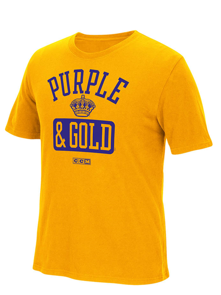 Los Angeles Kings Purple and Gold T-Shirt