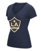 LA Galaxy Women's Liquid Hex V Short Sleeve T-shirt