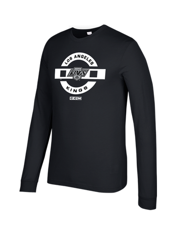 LA Kings CCM Shield Full Strength Long Sleeve T-Shirt