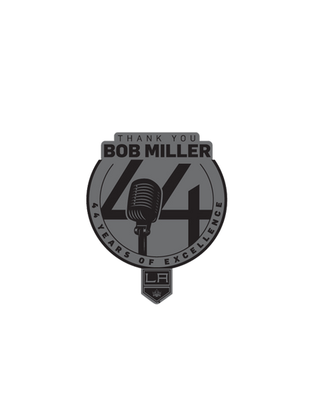 Los Angeles Kings Bob Miller Thank You Pin